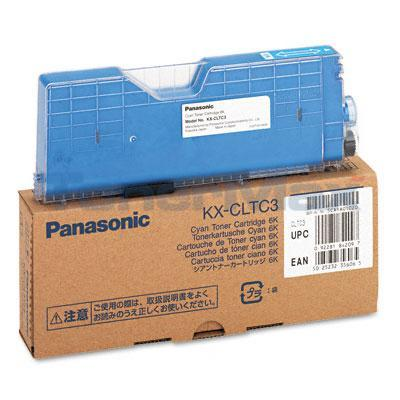 PANASONIC KX-CL400 TONER CARTRIDGE CYAN 6K
